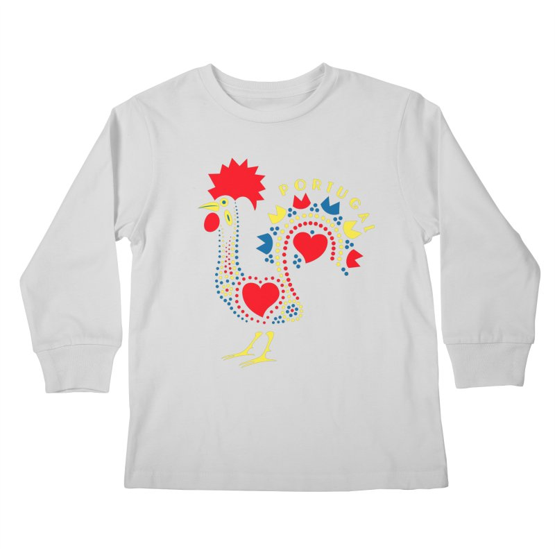 Magic Rooster Kids Longsleeve T-Shirt by Synner Design