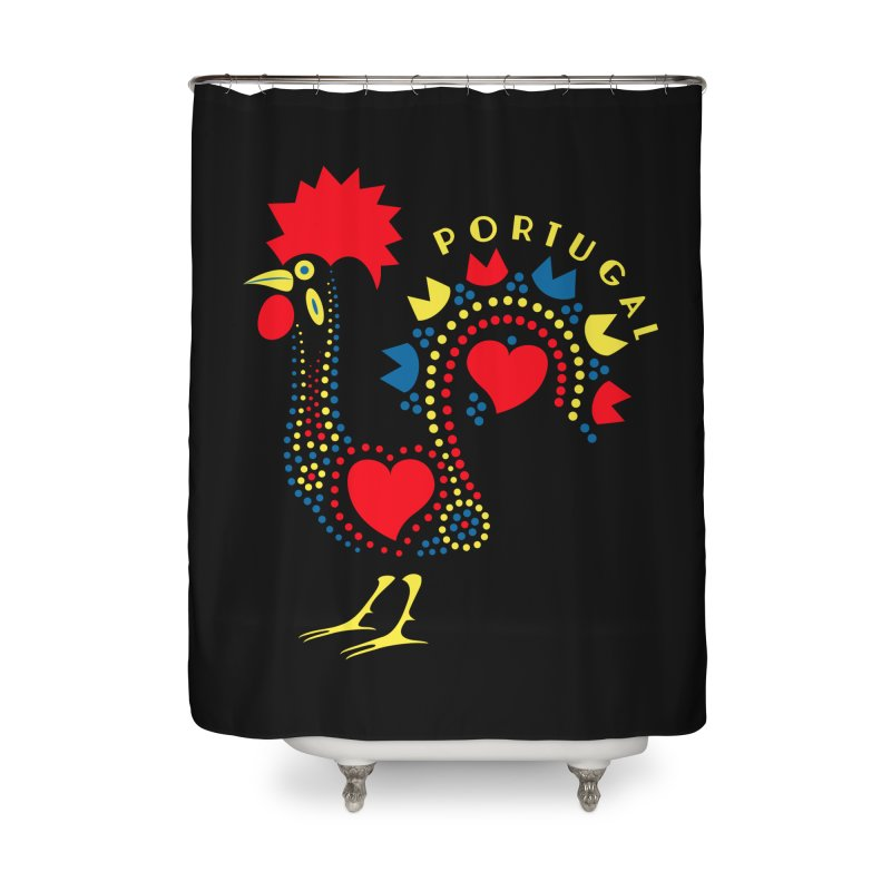 Magic Rooster Home Shower Curtain by Synner Design