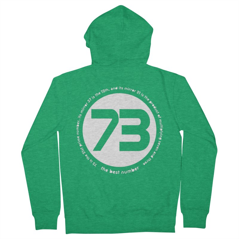 73 is the best number Women's Zip-Up Hoody by Synner Design