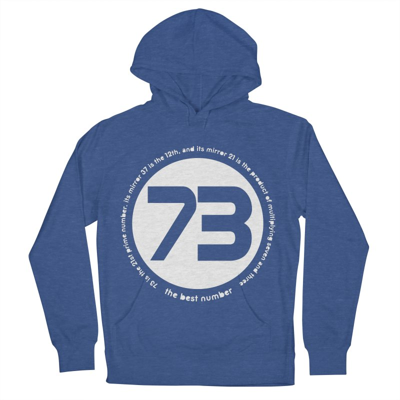 73 is the best number Men's Pullover Hoody by Synner Design