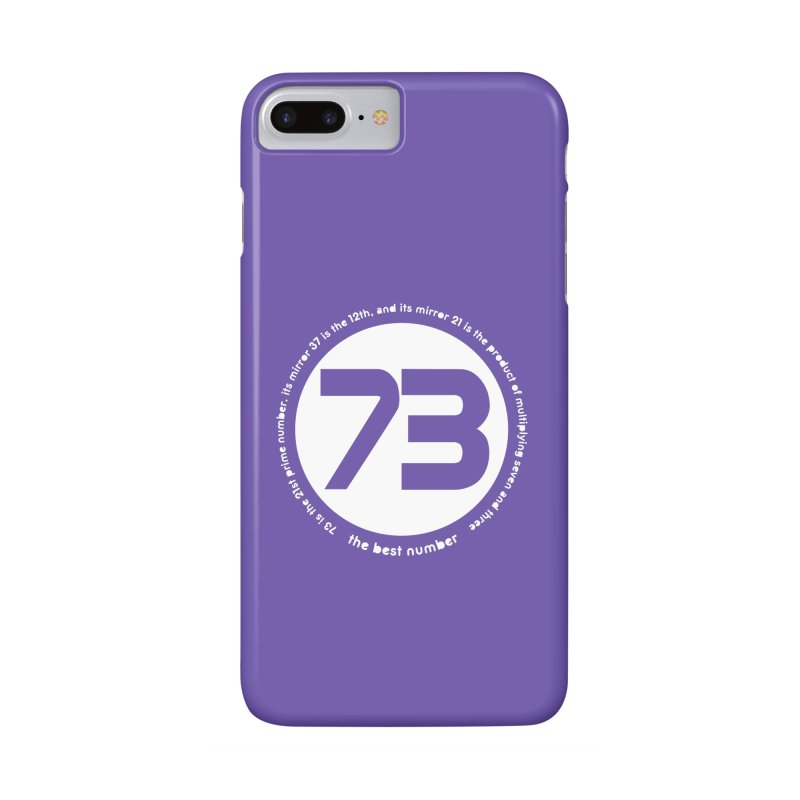 73 is the best number   by Synner Design