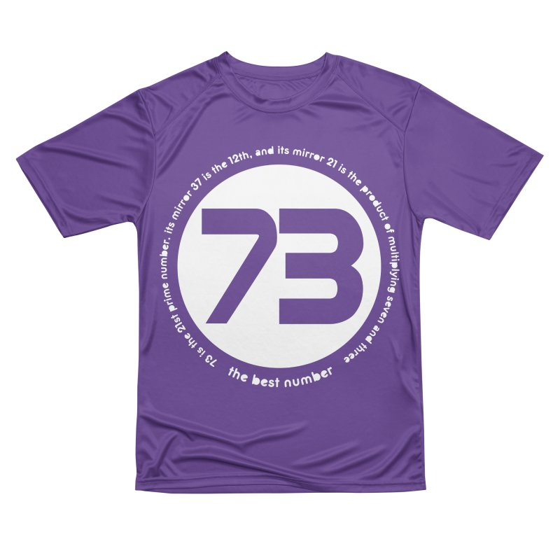 73 is the best number Men's Performance T-Shirt by Synner Design