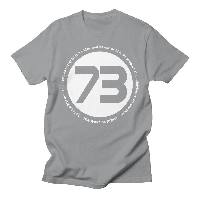 73 is the best number Men's Regular T-Shirt by Synner Design