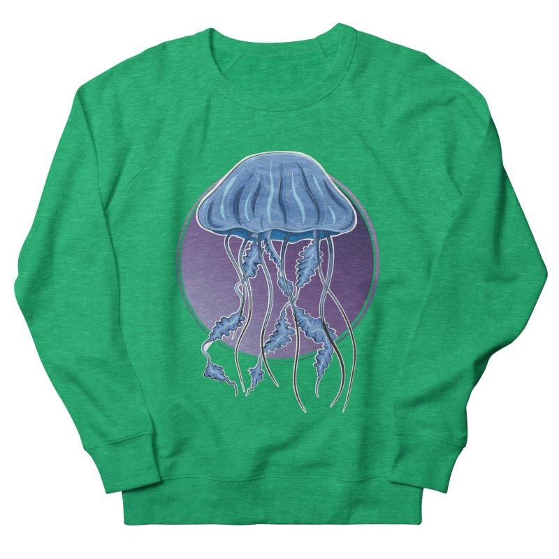 Jellyfish in purple Women's Sweatshirt by Synner Design