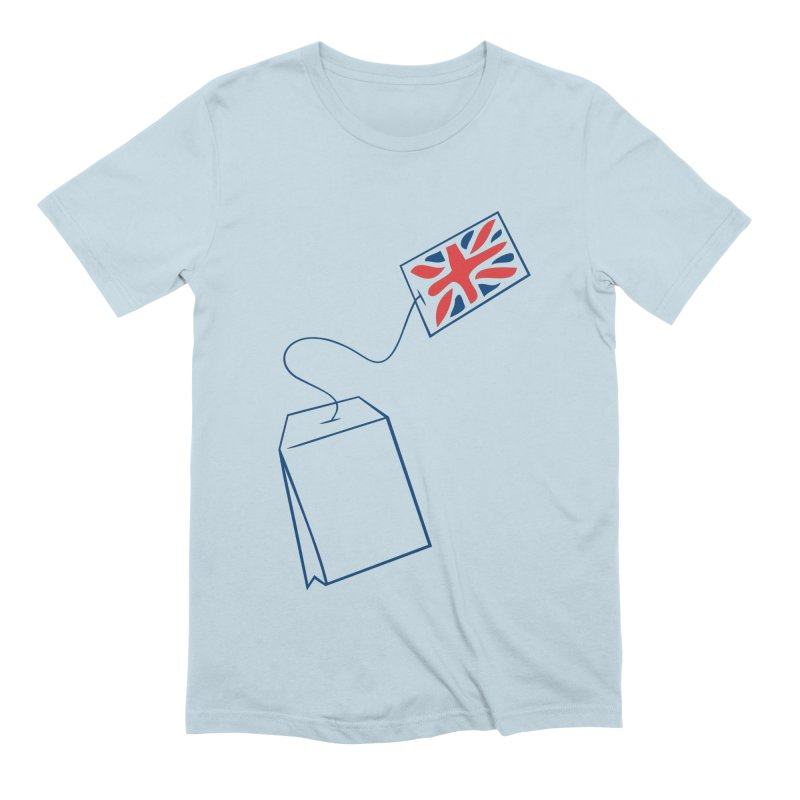 Little Tea Bag Men's Extra Soft T-Shirt by Synner Design