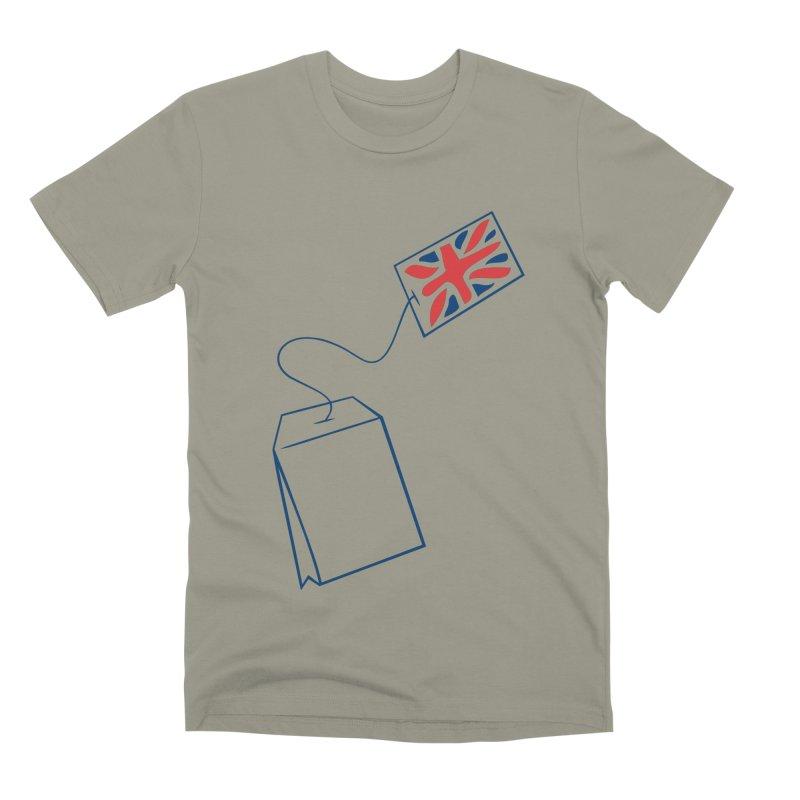 Little Tea Bag Men's Premium T-Shirt by Synner Design