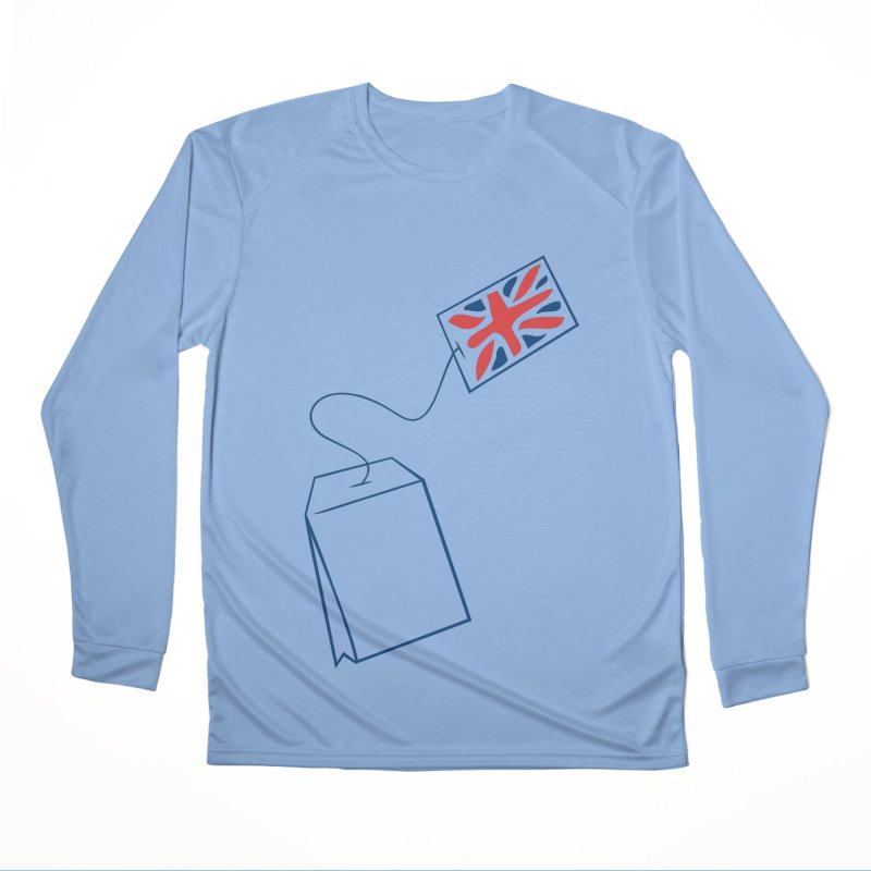 Little Tea Bag Women's Performance Unisex Longsleeve T-Shirt by Synner Design
