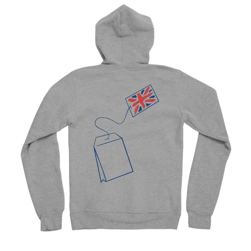 Little Tea Bag Women's Sponge Fleece Zip-Up Hoody by Synner Design