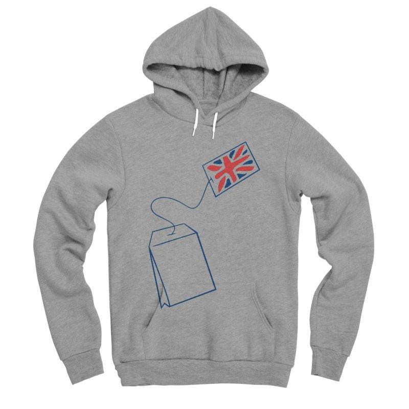 Little Tea Bag Men's Sponge Fleece Pullover Hoody by Synner Design