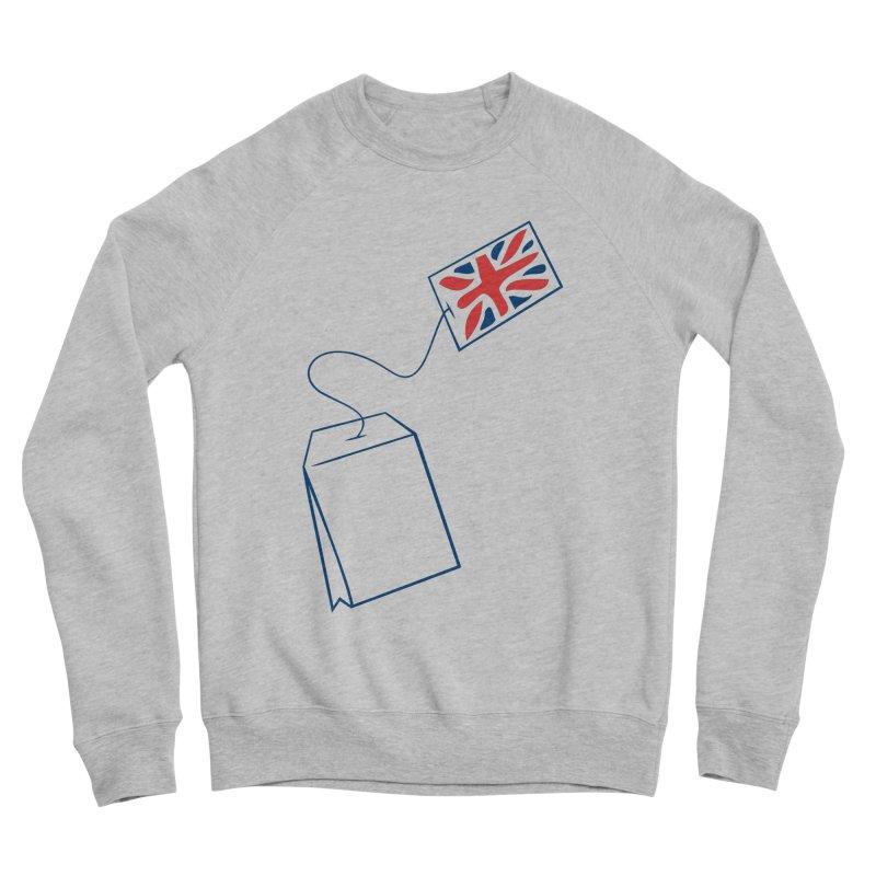 Little Tea Bag Men's Sponge Fleece Sweatshirt by Synner Design