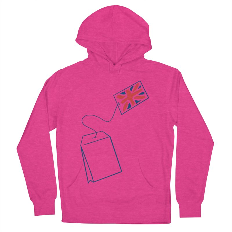 Little Tea Bag Women's French Terry Pullover Hoody by Synner Design