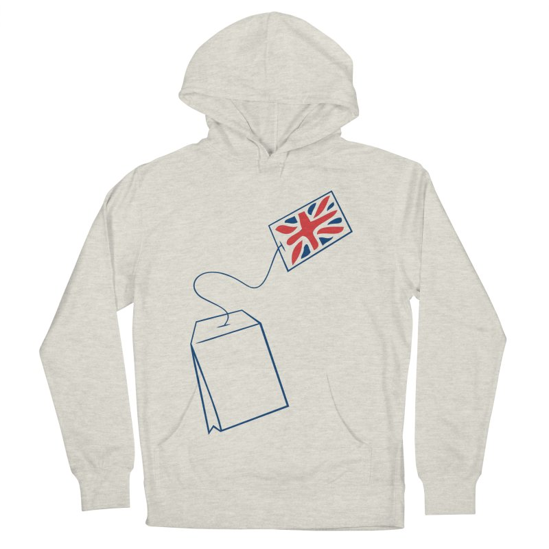 Little Tea Bag Men's French Terry Pullover Hoody by Synner Design