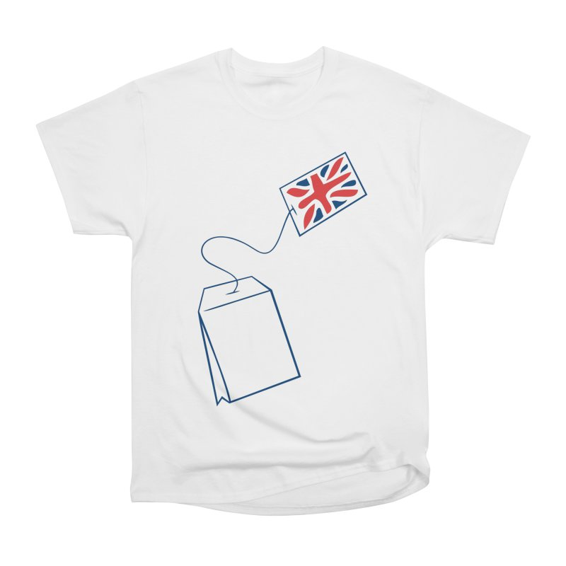 Little Tea Bag Men's Heavyweight T-Shirt by Synner Design
