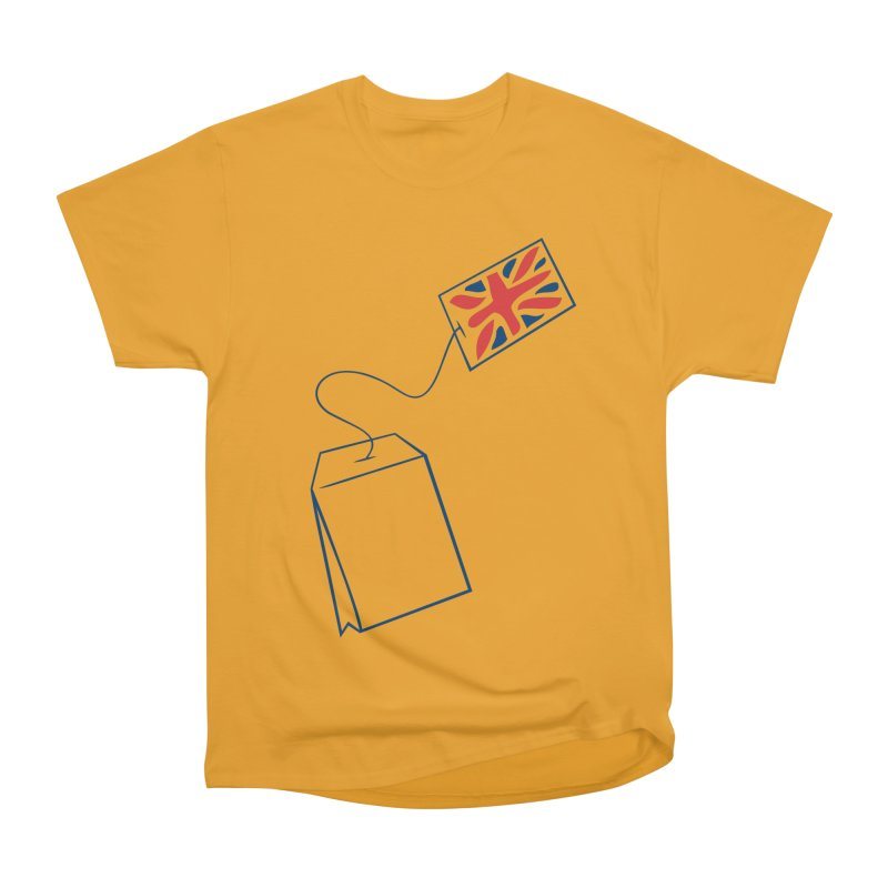 Little Tea Bag Men's Heavyweight T-Shirt by Synner Design