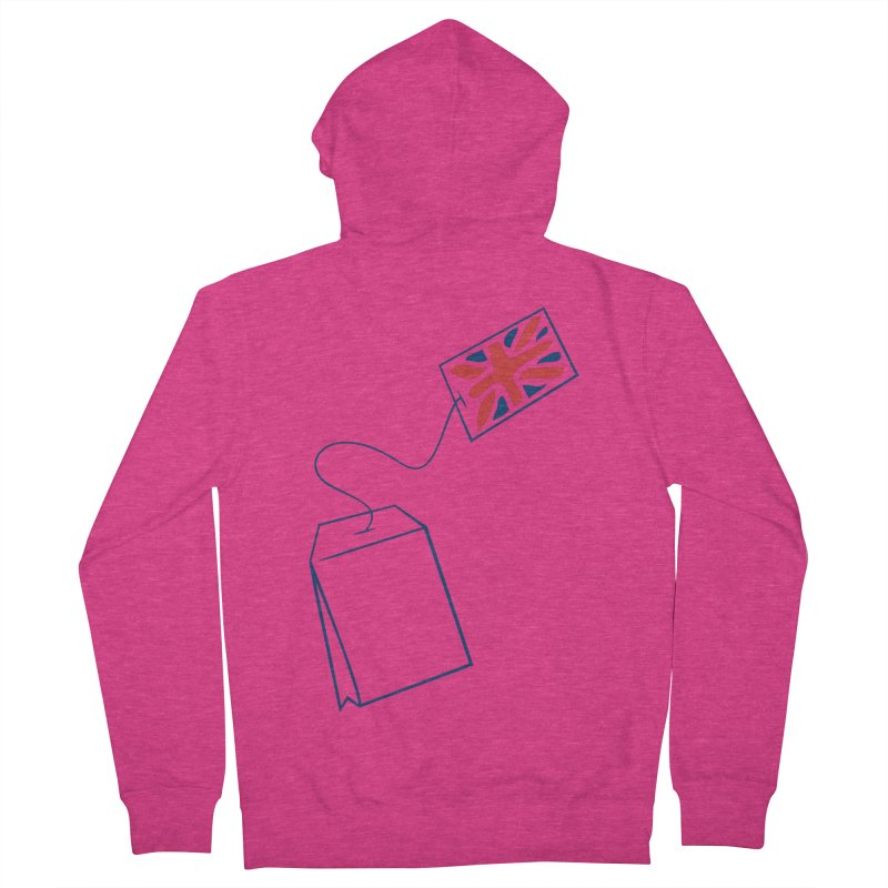 Little Tea Bag Women's French Terry Zip-Up Hoody by Synner Design