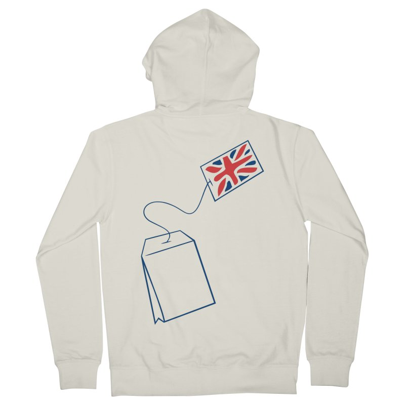 Little Tea Bag Men's Zip-Up Hoody by Synner Design