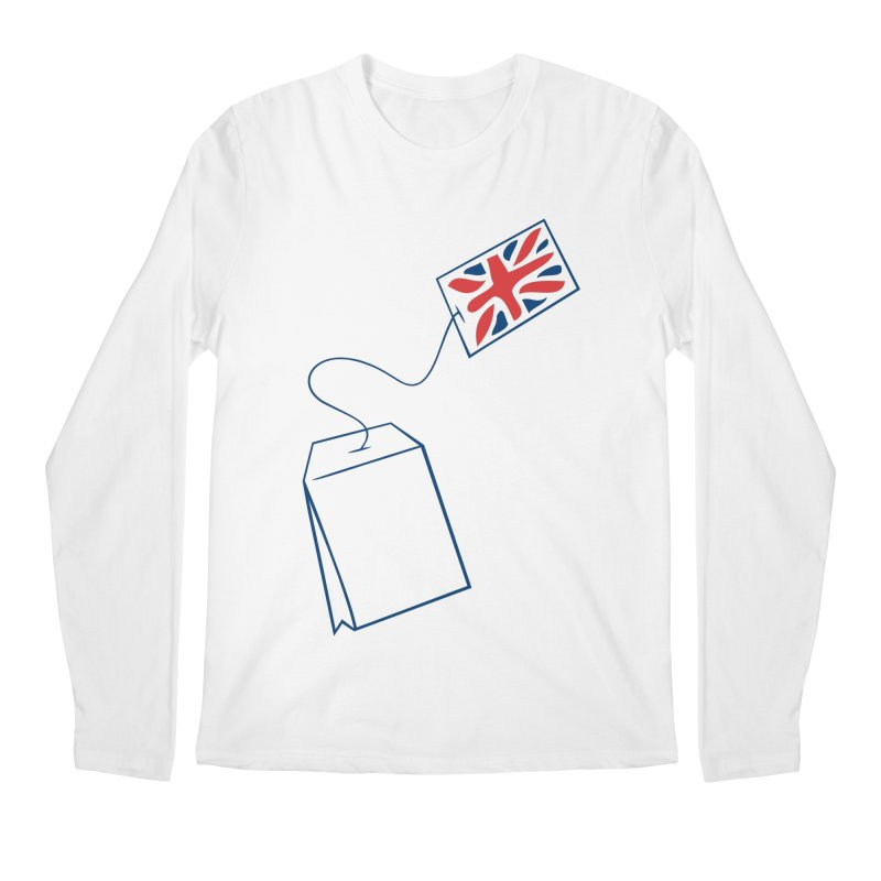 Little Tea Bag Men's Longsleeve T-Shirt by Synner Design