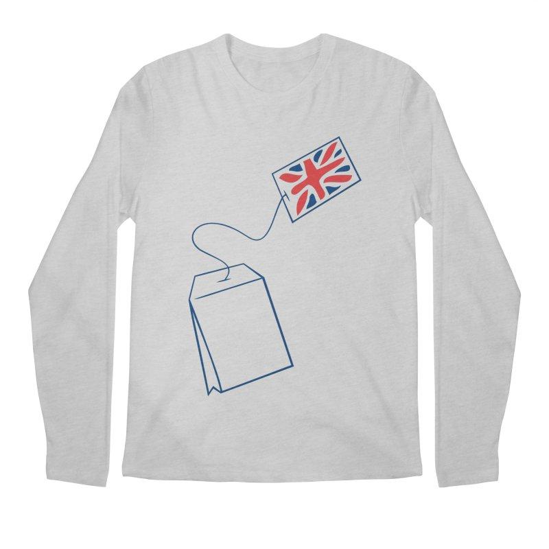 Little Tea Bag Men's Regular Longsleeve T-Shirt by Synner Design