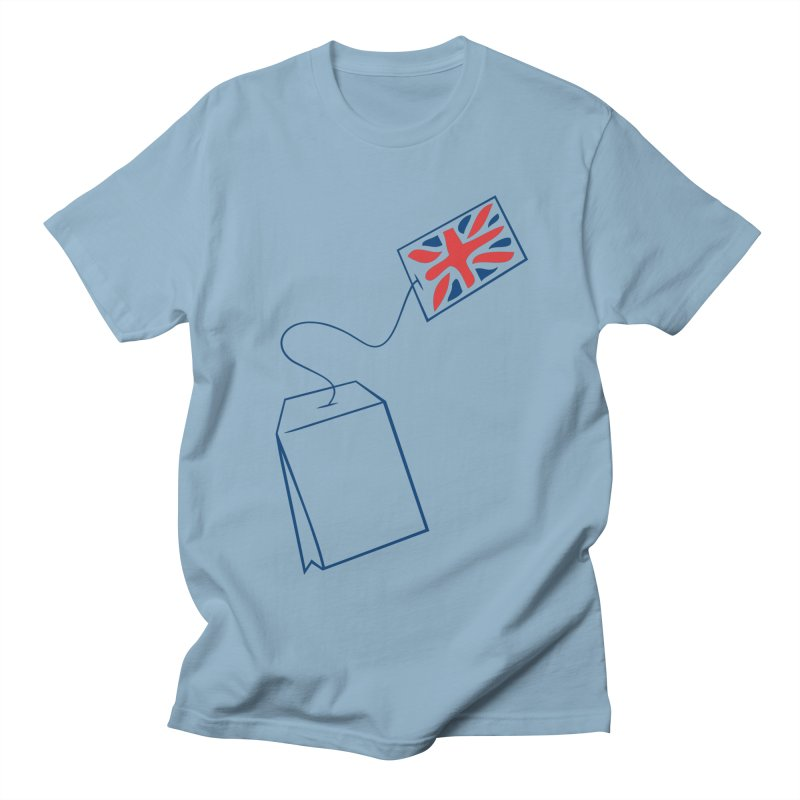 Little Tea Bag Men's T-Shirt by Synner Design