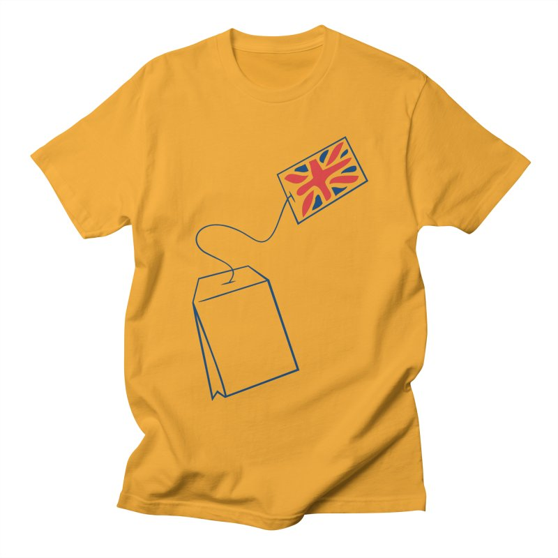Little Tea Bag Men's Regular T-Shirt by Synner Design