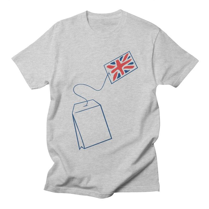 Little Tea Bag Men's T-Shirt by Synner Design