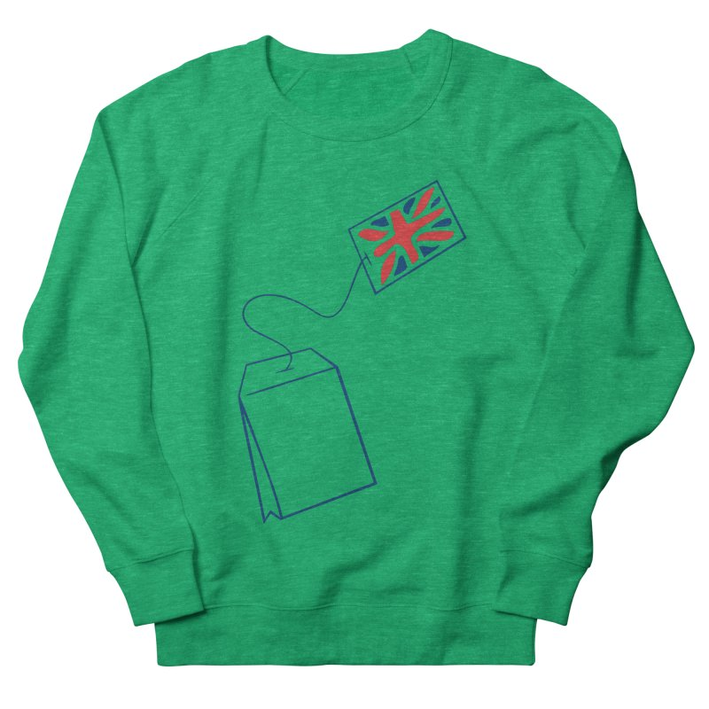 Little Tea Bag Men's French Terry Sweatshirt by Synner Design