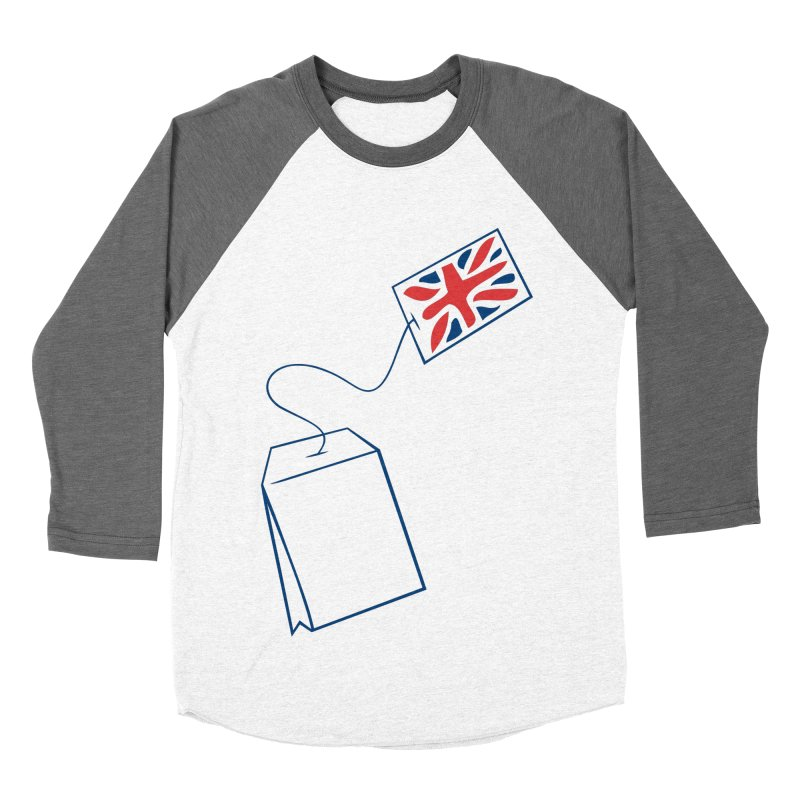 Little Tea Bag Women's Baseball Triblend Longsleeve T-Shirt by Synner Design