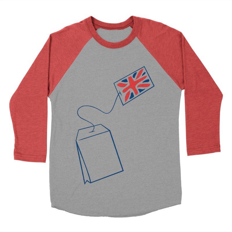 Little Tea Bag Women's Baseball Triblend T-Shirt by Synner Design