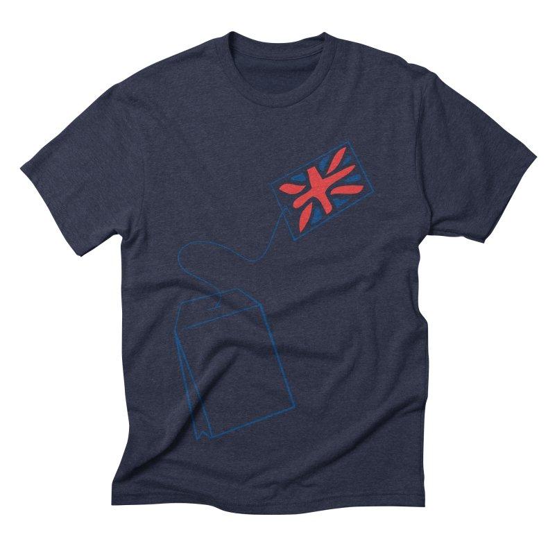 Little Tea Bag Men's Triblend T-shirt by Synner Design