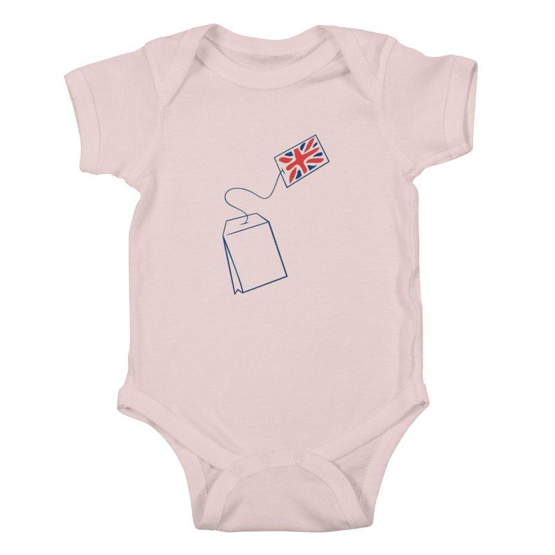 Little Tea Bag Kids Baby Bodysuit by Synner Design