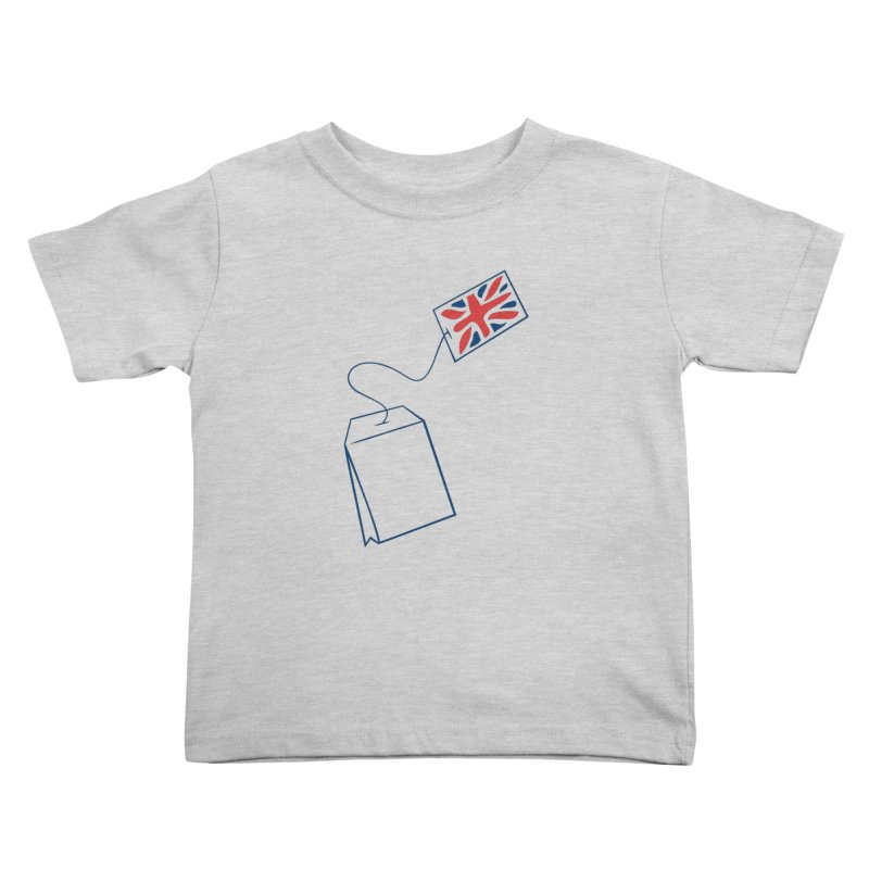 Little Tea Bag Kids Toddler T-Shirt by Synner Design