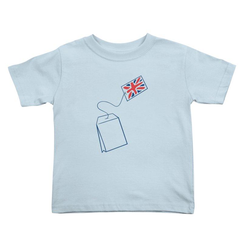 Little Tea Bag Kids Toddler T-Shirt by Synner Design