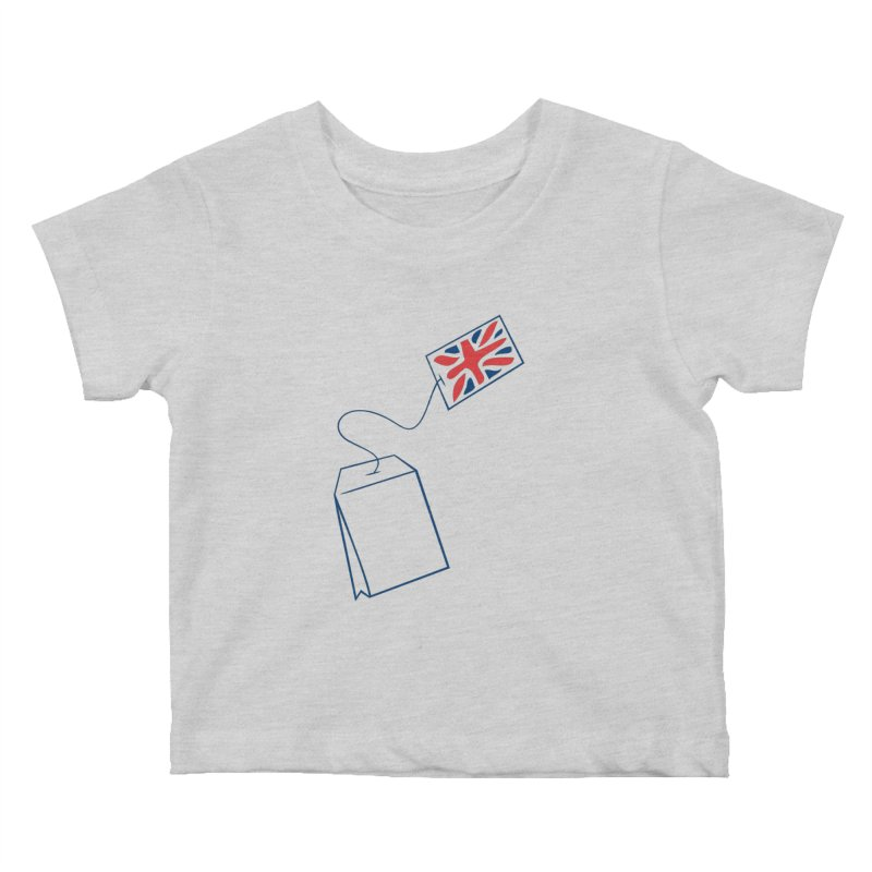 Little Tea Bag Kids Baby T-Shirt by Synner Design