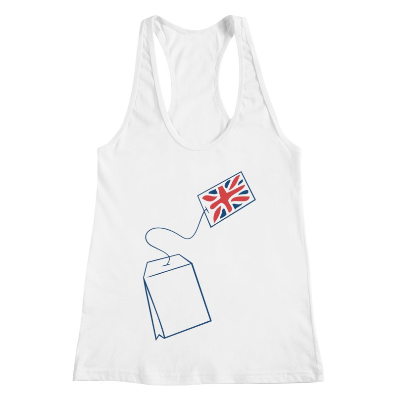 Little Tea Bag Women's Tank by Synner Design