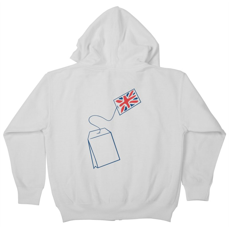 Little Tea Bag Kids Zip-Up Hoody by Synner Design