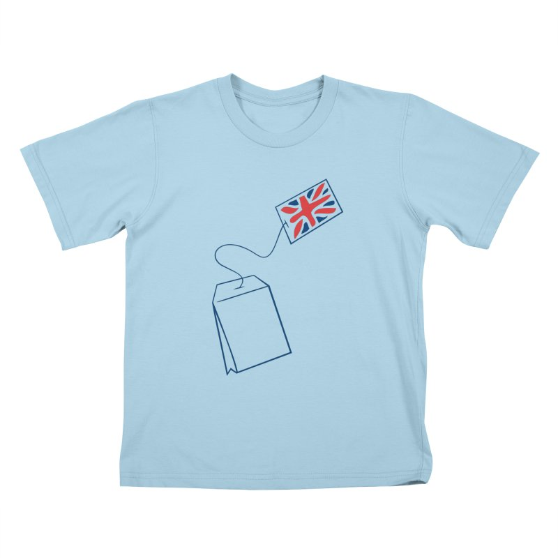 Little Tea Bag Kids T-shirt by Synner Design