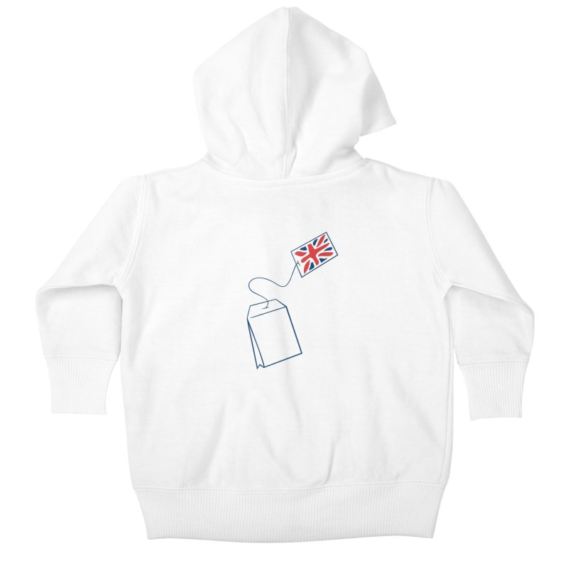 Little Tea Bag Kids Baby Zip-Up Hoody by Synner Design