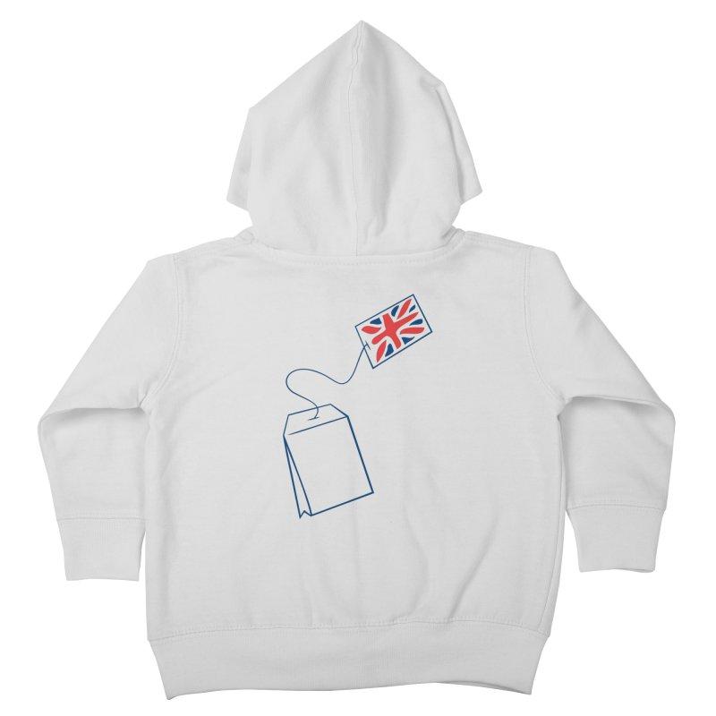 Little Tea Bag Kids Toddler Zip-Up Hoody by Synner Design
