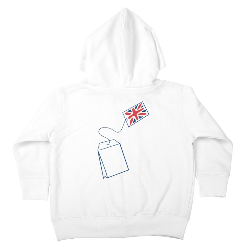 Little Tea Bag Kids Toddler Zip-Up Hoody by Synner Design