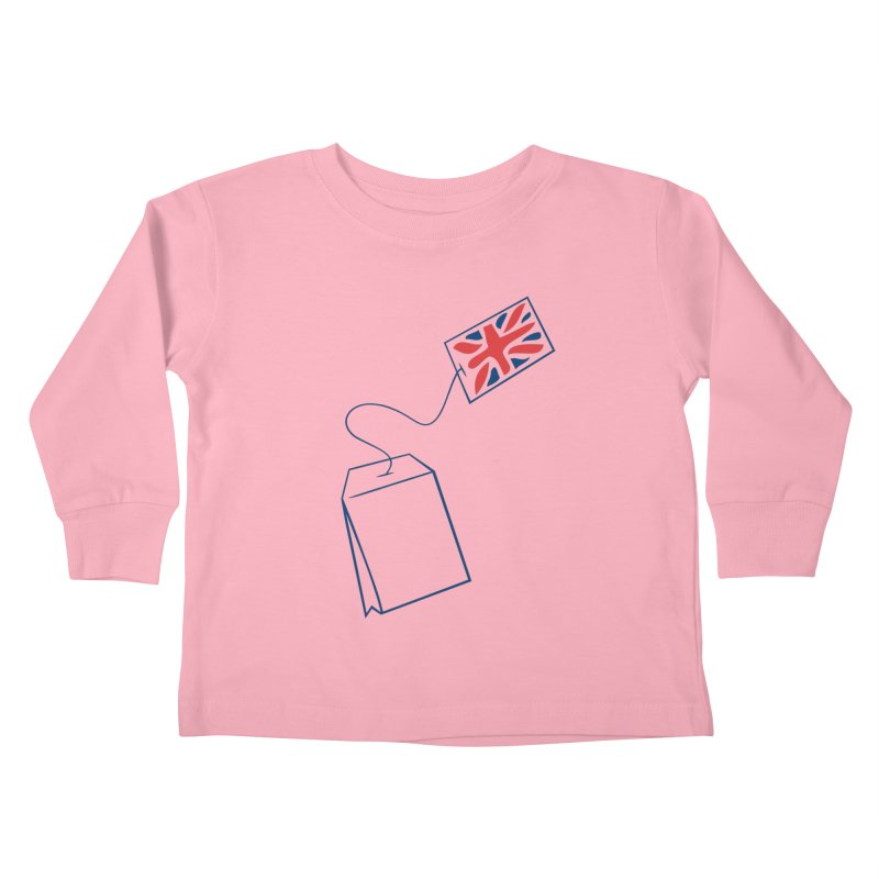 Little Tea Bag Kids Toddler Longsleeve T-Shirt by Synner Design