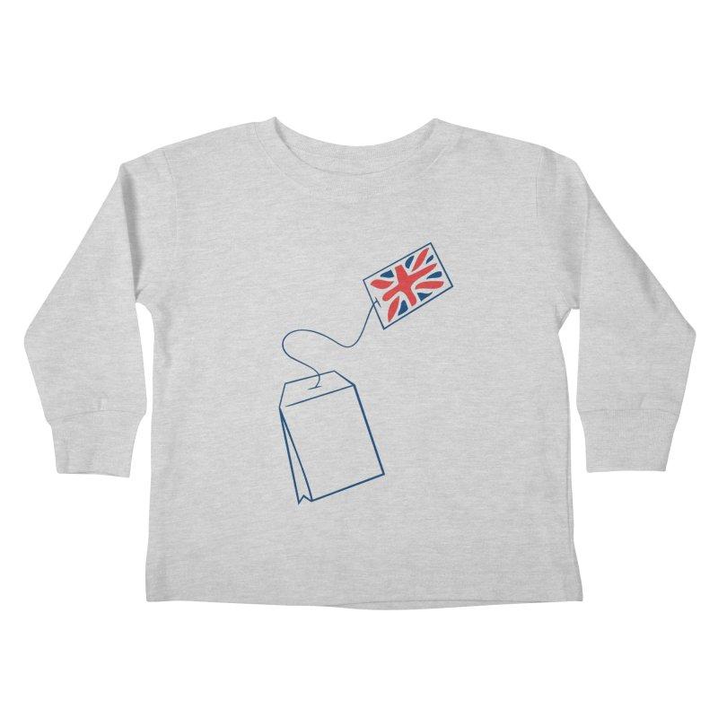 Little Tea Bag Kids Toddler Longsleeve T-Shirt by Synner Design