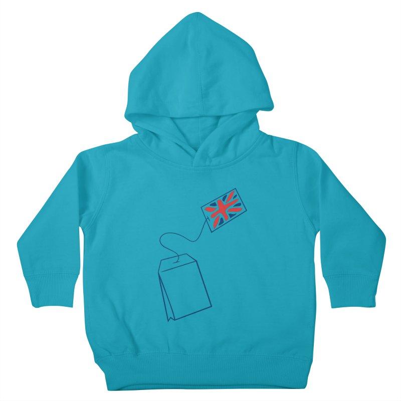 Little Tea Bag Kids Toddler Pullover Hoody by Synner Design