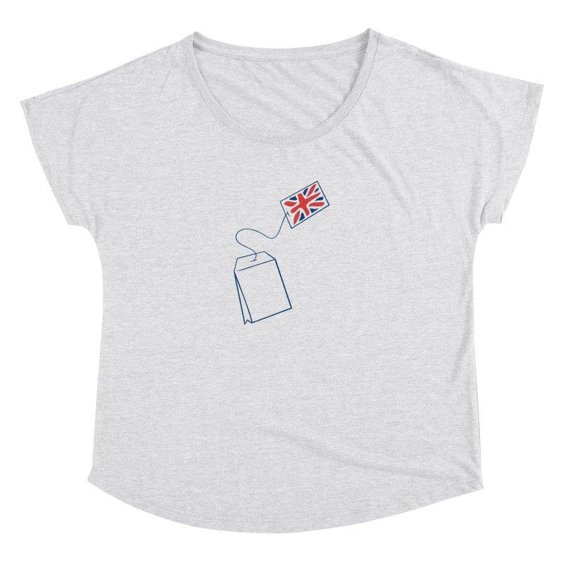 Little Tea Bag Women's Scoop Neck by Synner Design