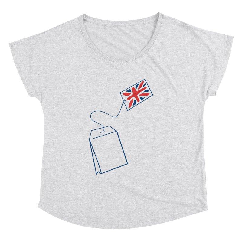 Little Tea Bag Women's Dolman by Synner Design