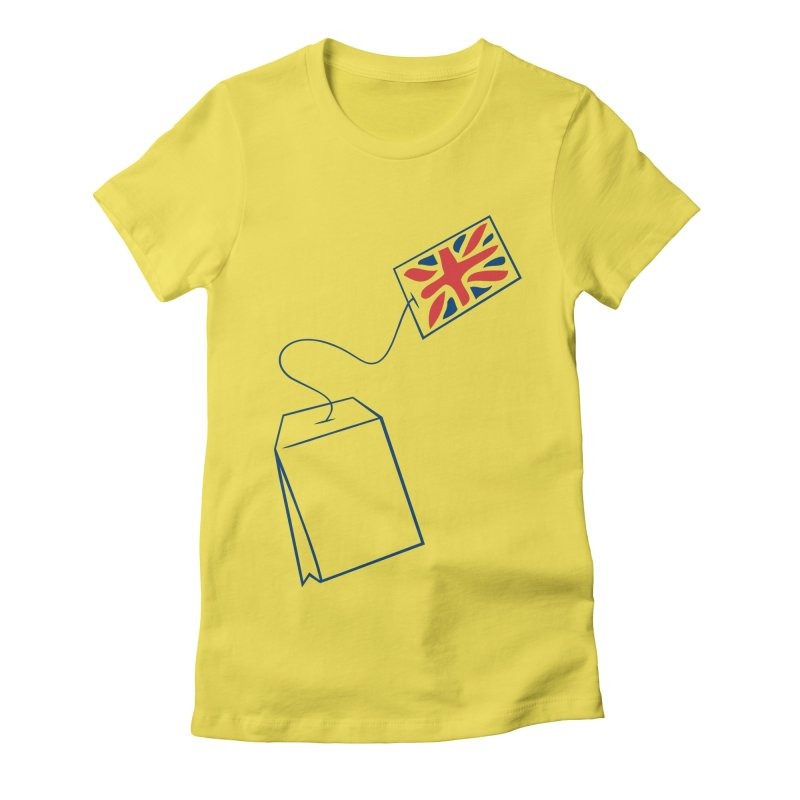 Little Tea Bag Women's T-Shirt by Synner Design