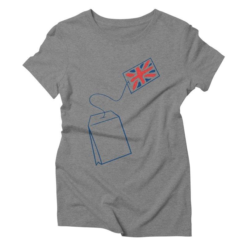 Little Tea Bag Women's Triblend T-Shirt by Synner Design