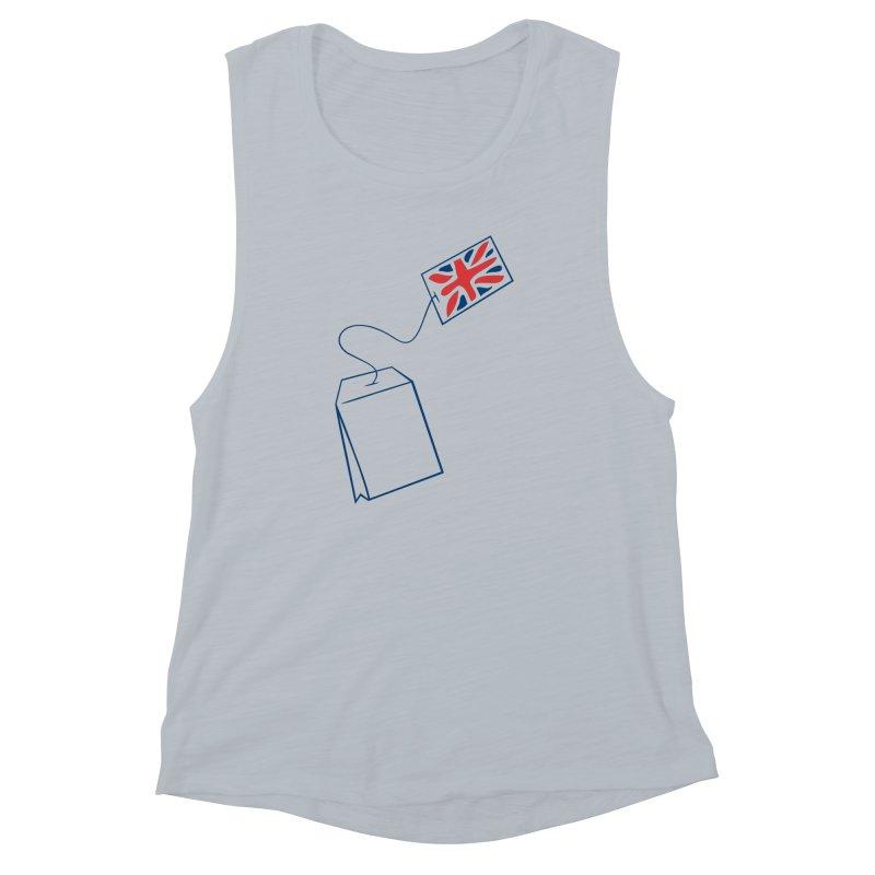 Little Tea Bag Women's Muscle Tank by Synner Design