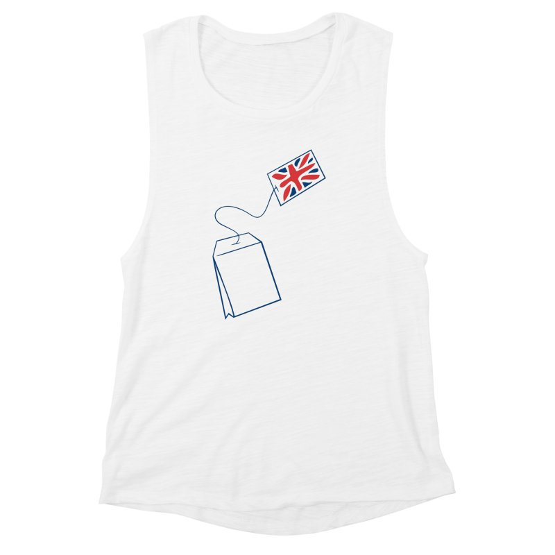 Little Tea Bag Women's Muscle Tank by Synner Design