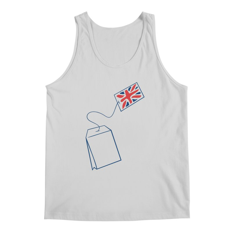 Little Tea Bag Men's Tank by Synner Design