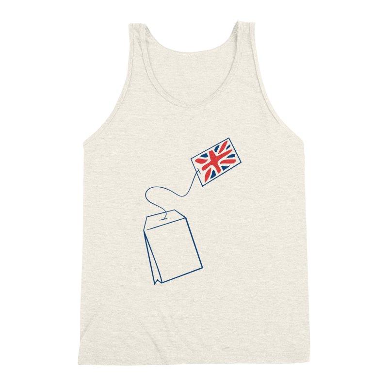 Little Tea Bag Men's Triblend Tank by Synner Design
